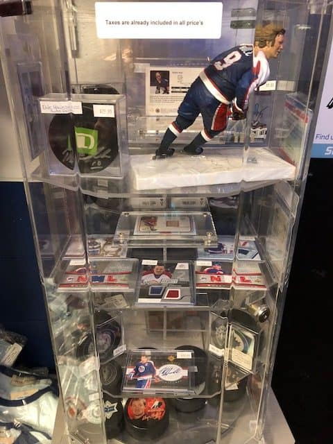 Dale Hawerchuk Winnipeg Jets Hurricane Pro Shop East St. Paul used skates
