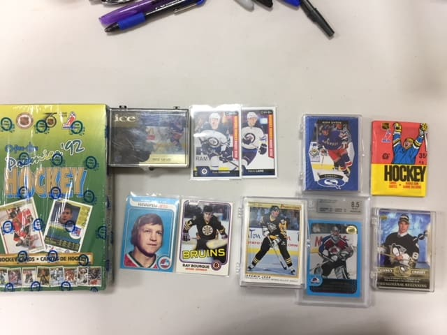 Pack Wars Winnipeg Manitoba baseball cards hockey cards