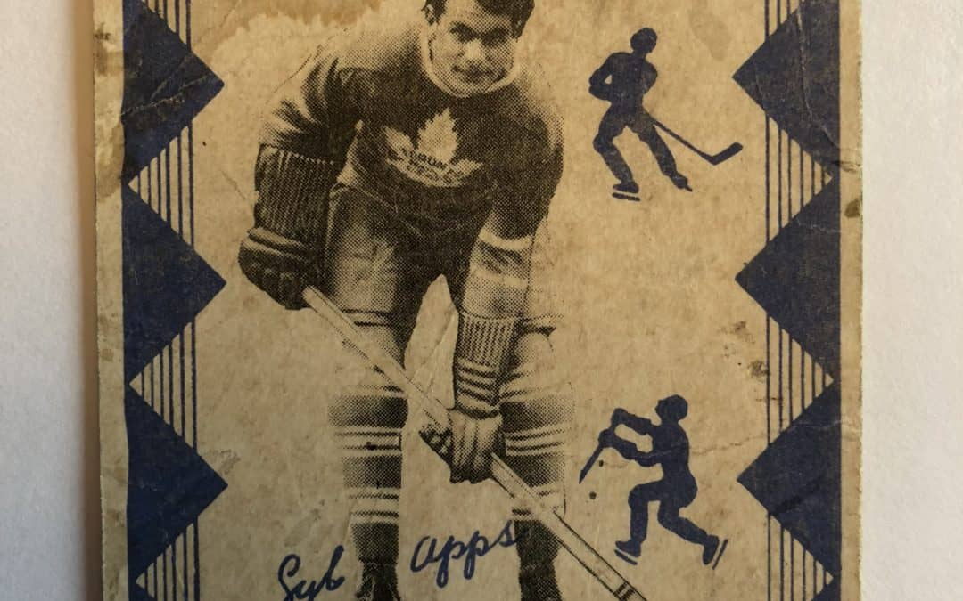 Every hockey card has 2 stories