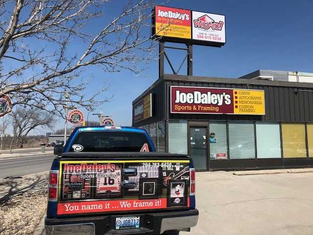 Joe Daley's Sports & Framing Winnipeg Manitoba