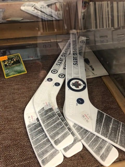 Argy's Collectibles Winnipeg sports card store