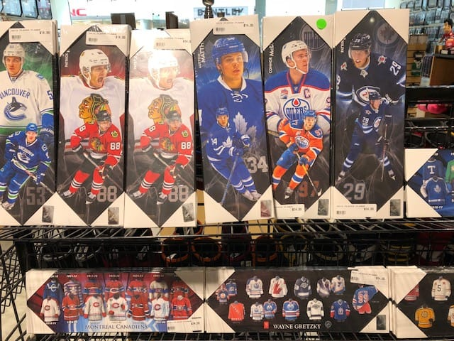 AJ's sports cards store Winnipeg Manitoba
