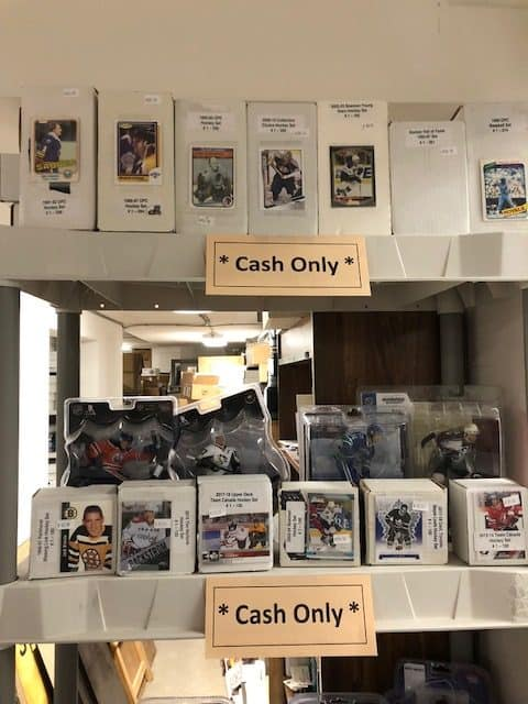 Lower Level Sports Cards Store Shop Winnipeg Manitoba