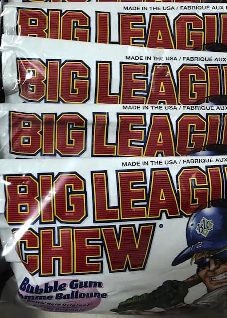 big league chew birthday party game baseball cards gum