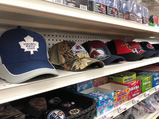 Meyers Meats Manitoba sports card store Carberry