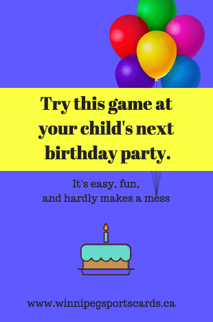 kids' birthday party game