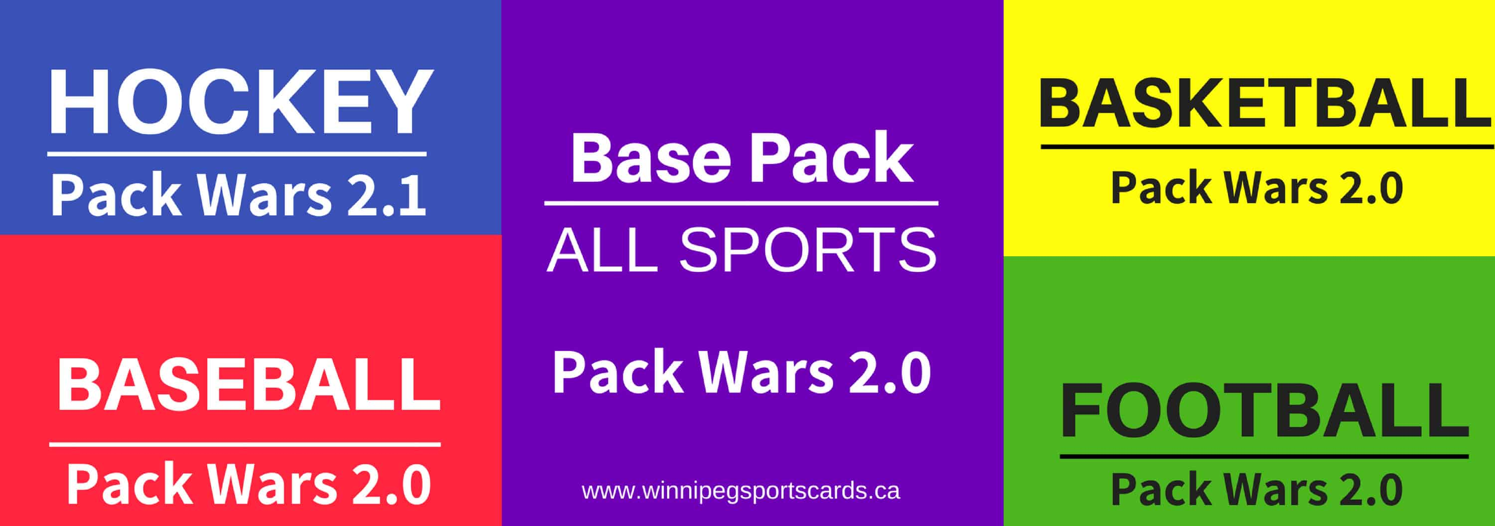 Pack Wars Winnipeg Manitoba sports cards family hobby