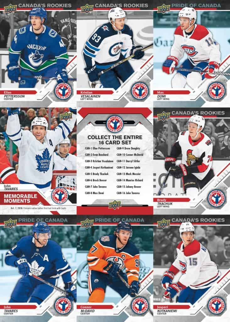 Upper Deck National Hockey Card Day Winnipeg Manitoba