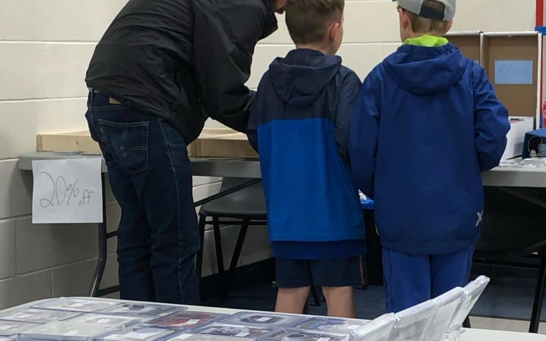 Give your kid the gift of hockey cards