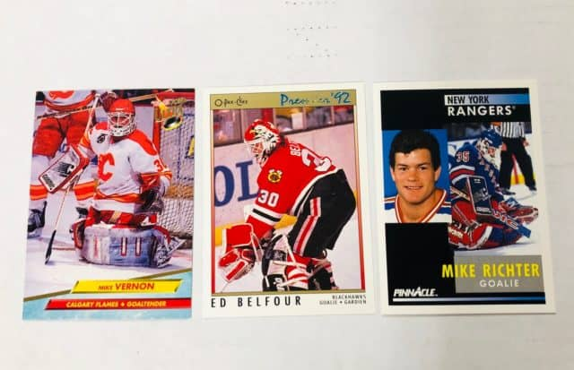 ways to collect hockey cards family hobby