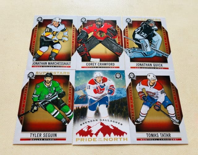 ways to collect hockey cards family hobby Canadian Tire Coast to Coast hockey cards