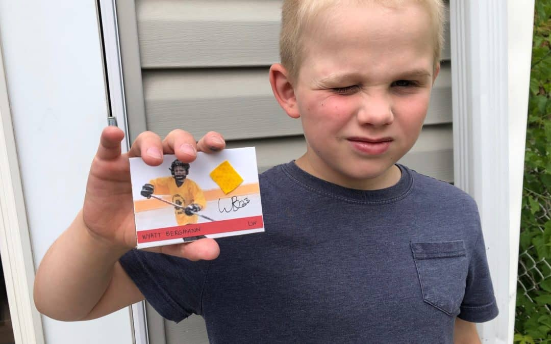 make your own baseball card make your own hockey card